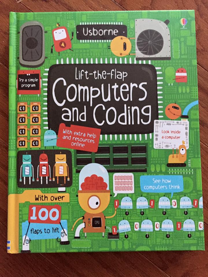 Lift-the-flap Computers and Coding1