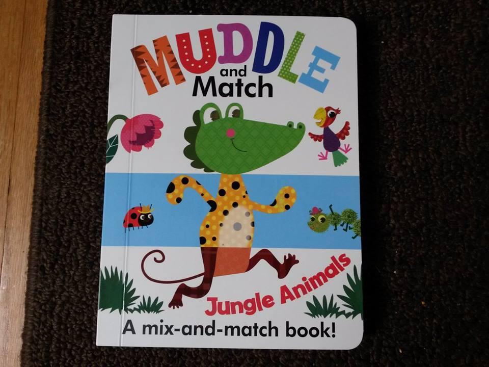Muddle and Match-Jungle Animals