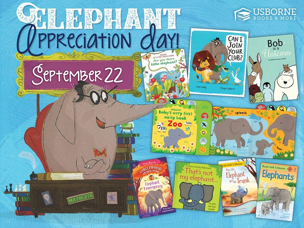 Elephant Appreciation Day September 22
