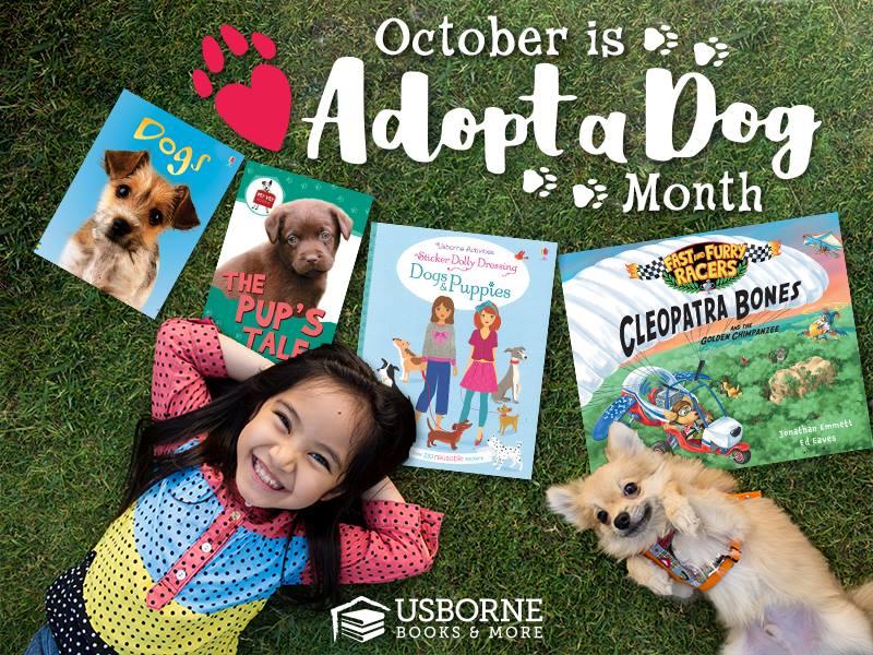 Adopt a Dog Month - October
