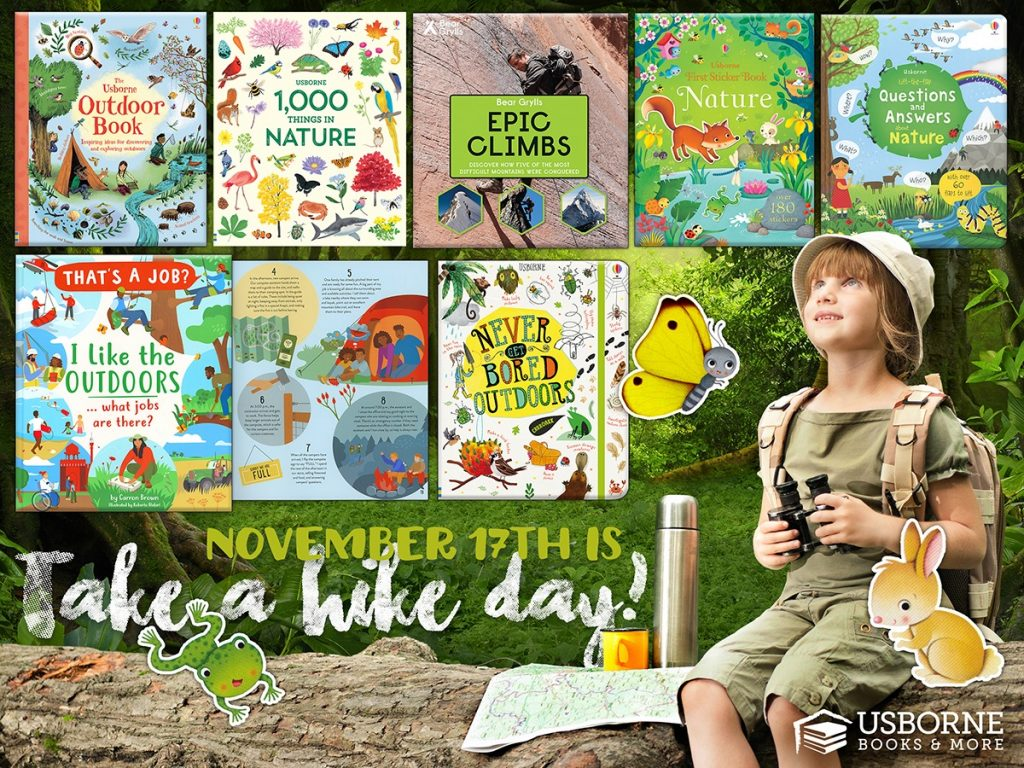 Take a Hike Day is November 17th.