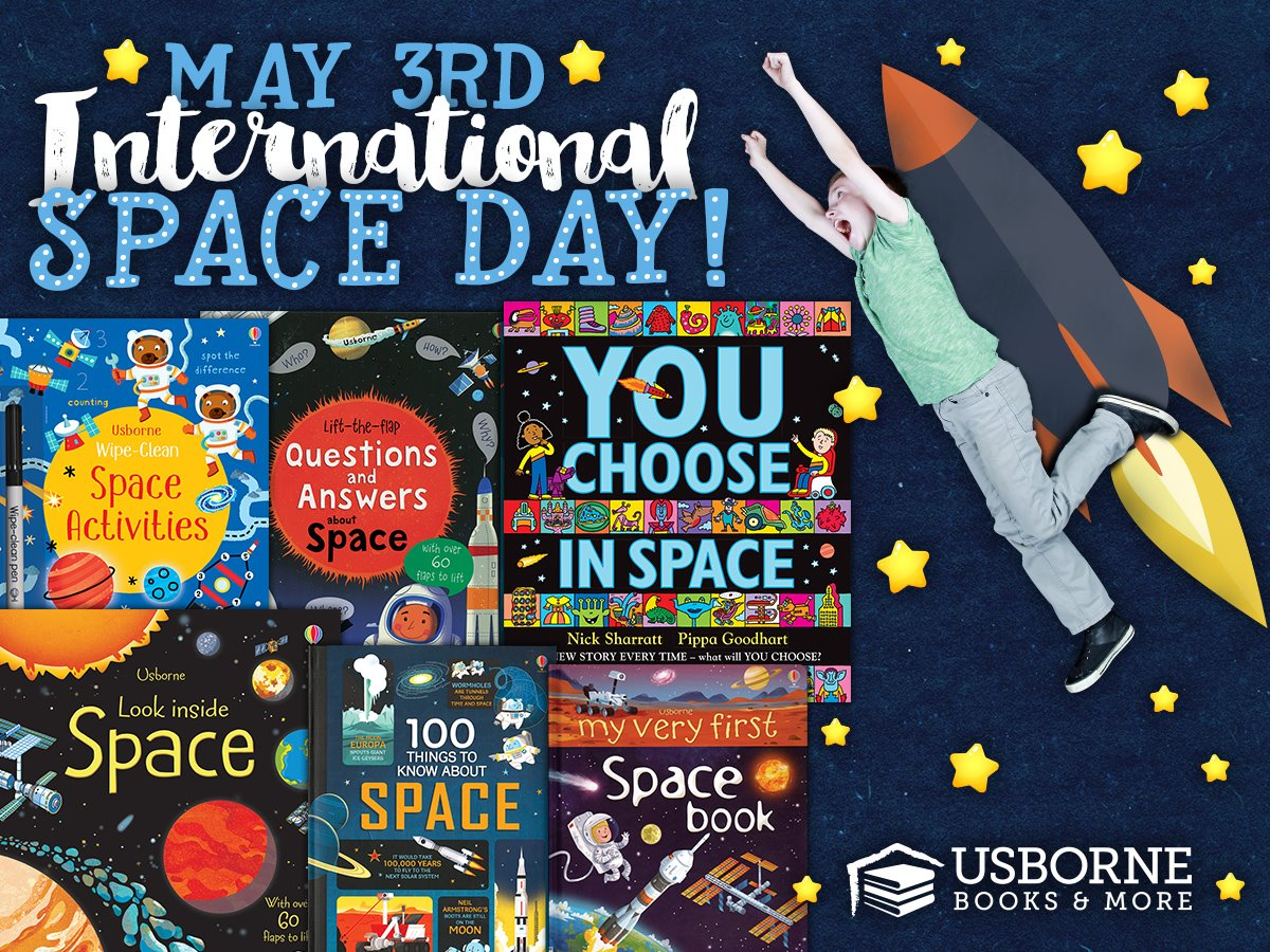 International Space Day ~ May 3