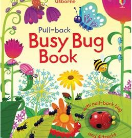 Usborne Pull-back Busy Bug Book - Usborne Books & More
