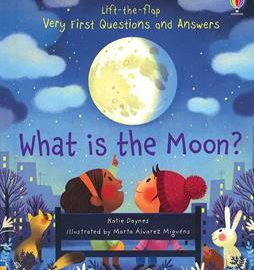 Usborne Lift-the-flap Very First Questions and Answers What is the Moon? - Usborne Books & More