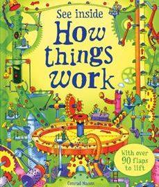 Usborne See Inside How Things Work - Usborne books