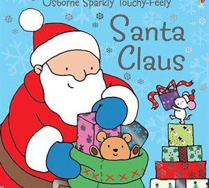 Usborne Santa Claus Touchy Feely Book