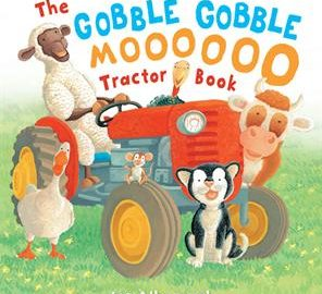 Gobble Gobble Moooooo Tractor Book - Usborne Books & More