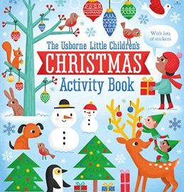 Usborne Little Children's Christmas Activity Book - Usborne Books & More