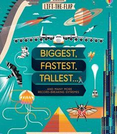 Usborne Lift-the-Flap Biggest, Fastest,Tallest - Usborne Books & More