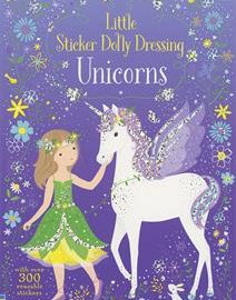 Little Sticker Dolly Dressing Unicorns - Usborne Books & More