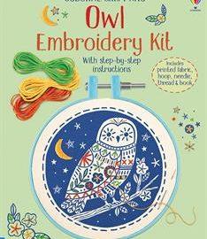 Usborne Owl Embroidery Kit - Usborne Books & More