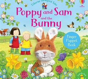 Poppy and Sam and the Bunny Finger Puppet Book - Usborne Books & More