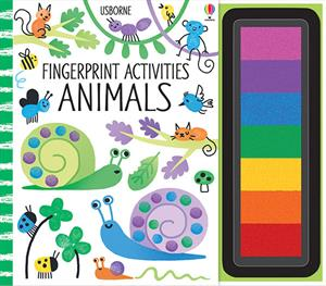 Usborne Fingerprint Activities Animals