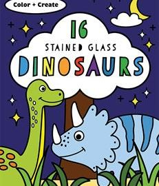 Stained Glass Dinosaurs - Usborne Books & More