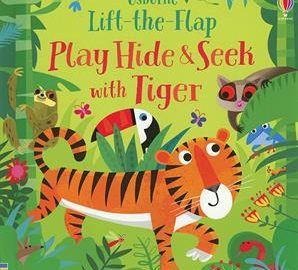 Usborne Lift-the-Flap Play Hide and Seek with Tiger - Usborne Books & More
