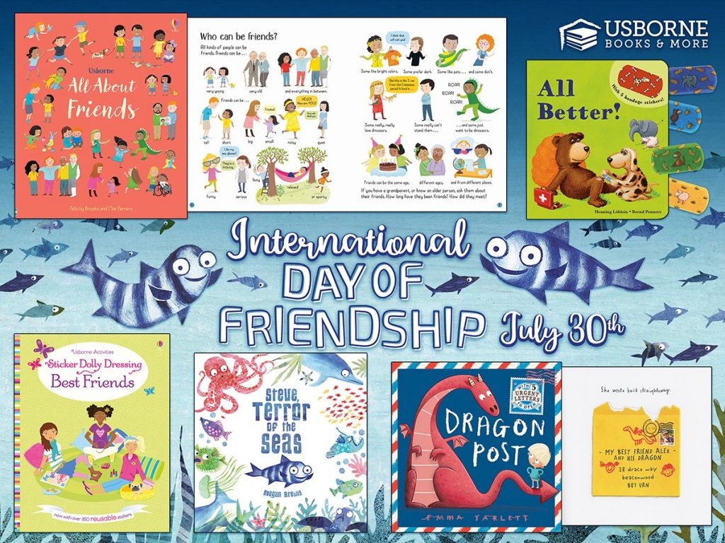 International Day of Friendship is July 30th.