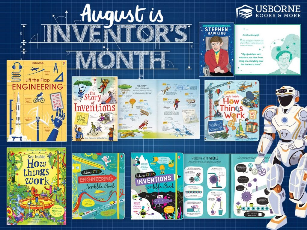 August is Inventor's Month