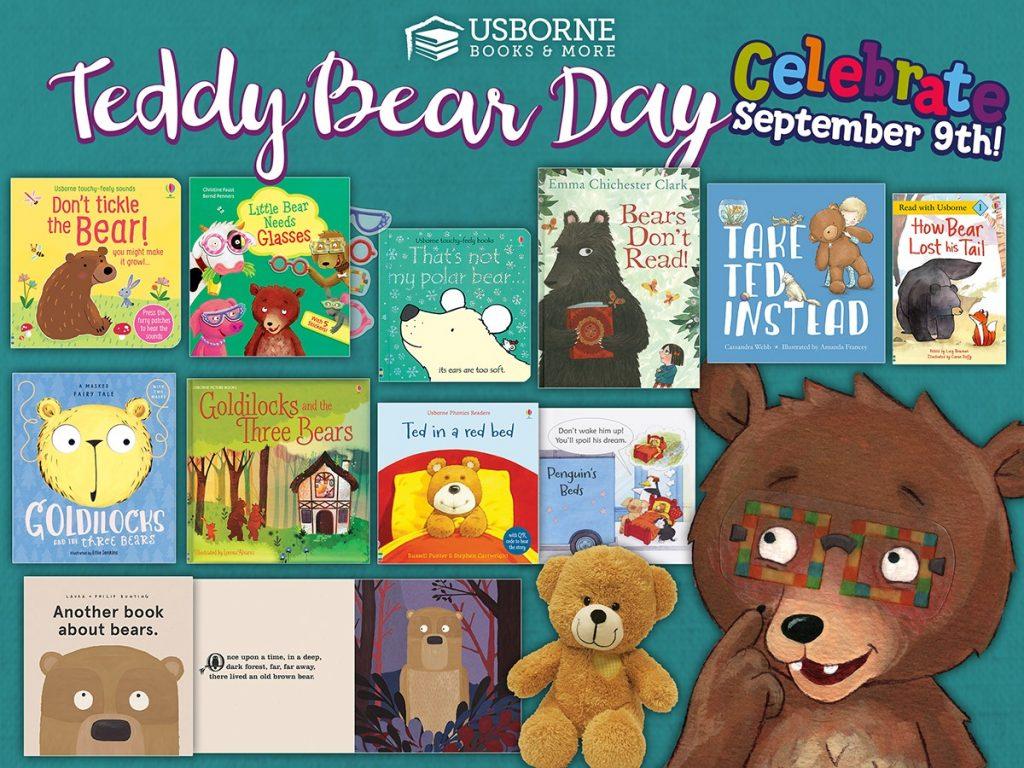 National Teddy Bear Day September 9