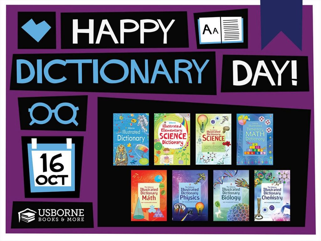 Dictionary Day is October 16