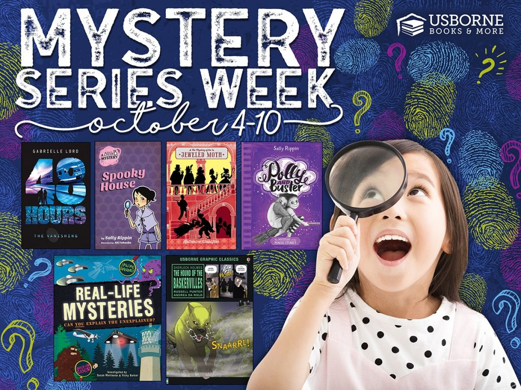 Mystery Series Week October 4-10 Usborne Books & More