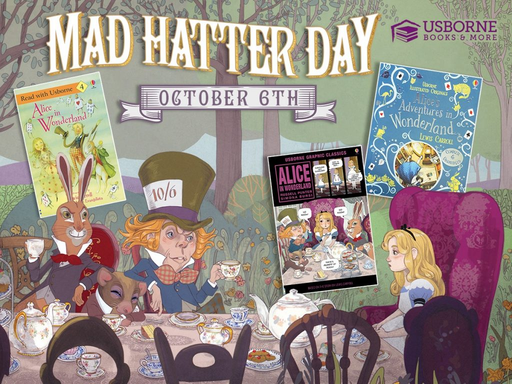 Mad Hatter Day October 6th