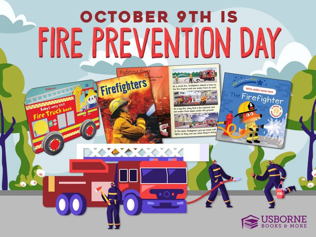 October 9th is Fire Prevention Day