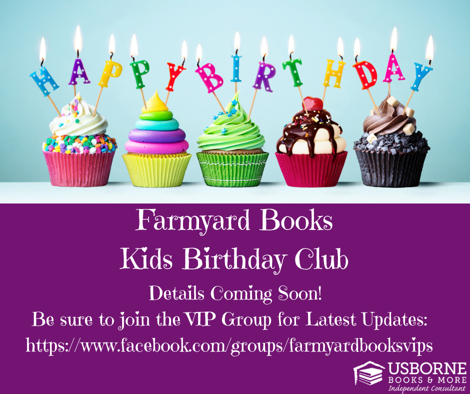 Kids Birthday Club - Farmyard Books
