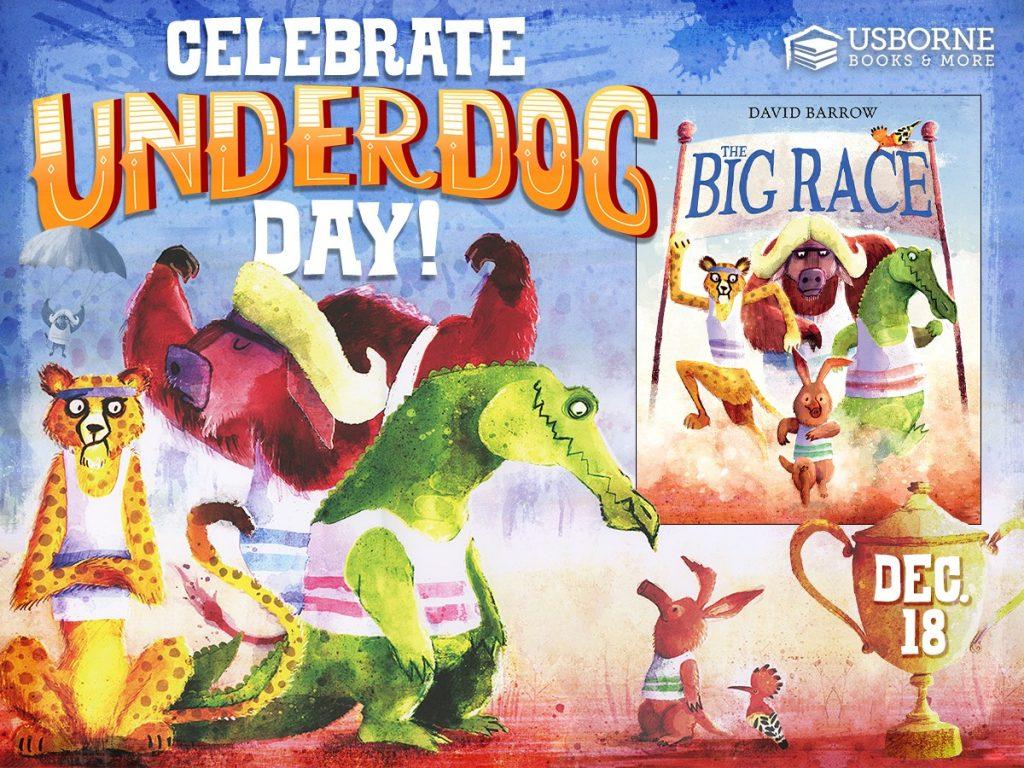 Usborne Books Underdog Day