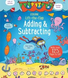 Usborne Lift-the-Flap Adding & Subtracting (IR) - Usborne Books & More