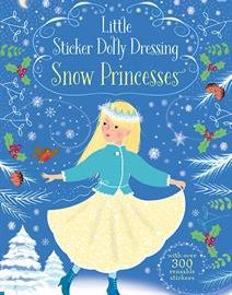 Little Sticker Dolly Dressing Snow Princesses - Usborne Books & More
