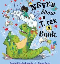 Never Show a T. rex a Book