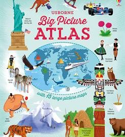 Usborne Big Picture Atlas (IR)