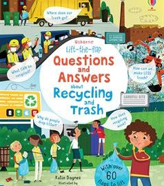 Lift-the-Flap Questions and Answers about Recycling and Trash (IR)