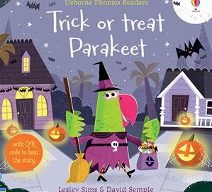 Trick or Treat Parakeet (QR)
