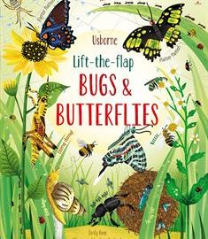 Usborne Lift-the-Flap Bugs & Butterflies (IR)