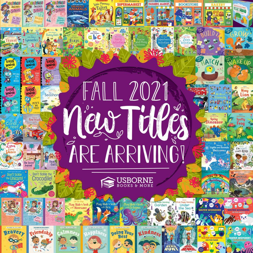 Usborne Books & More New Titles were released on June 14, 2021.