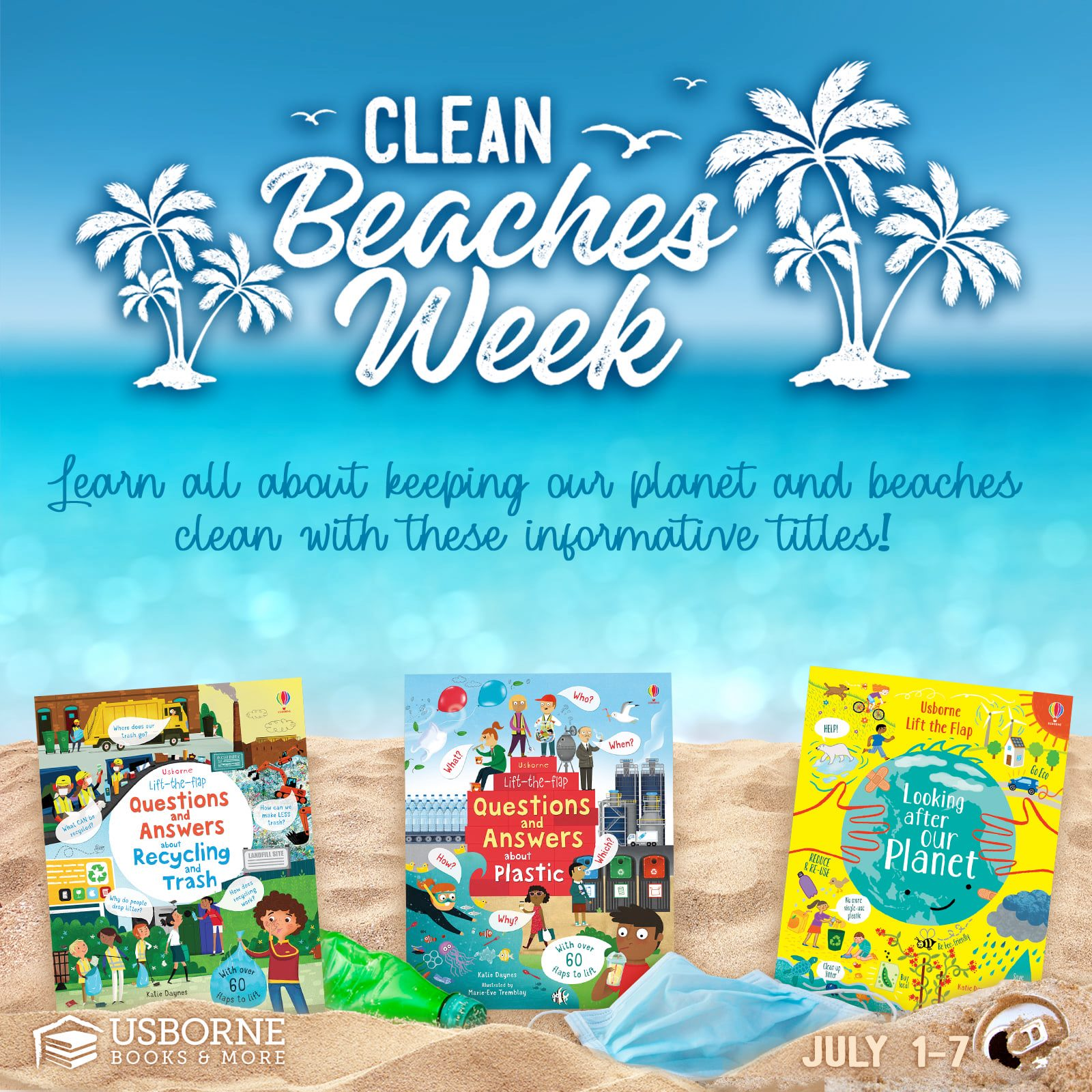 Clean Beaches Week ~ July 1-7