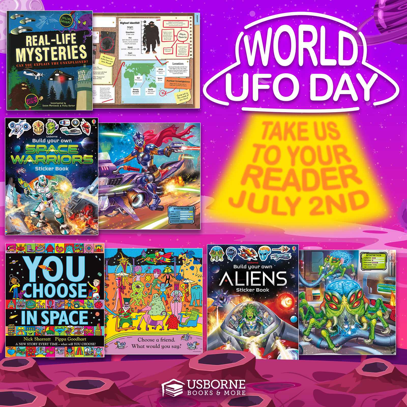 World UFO Day ~ July 2