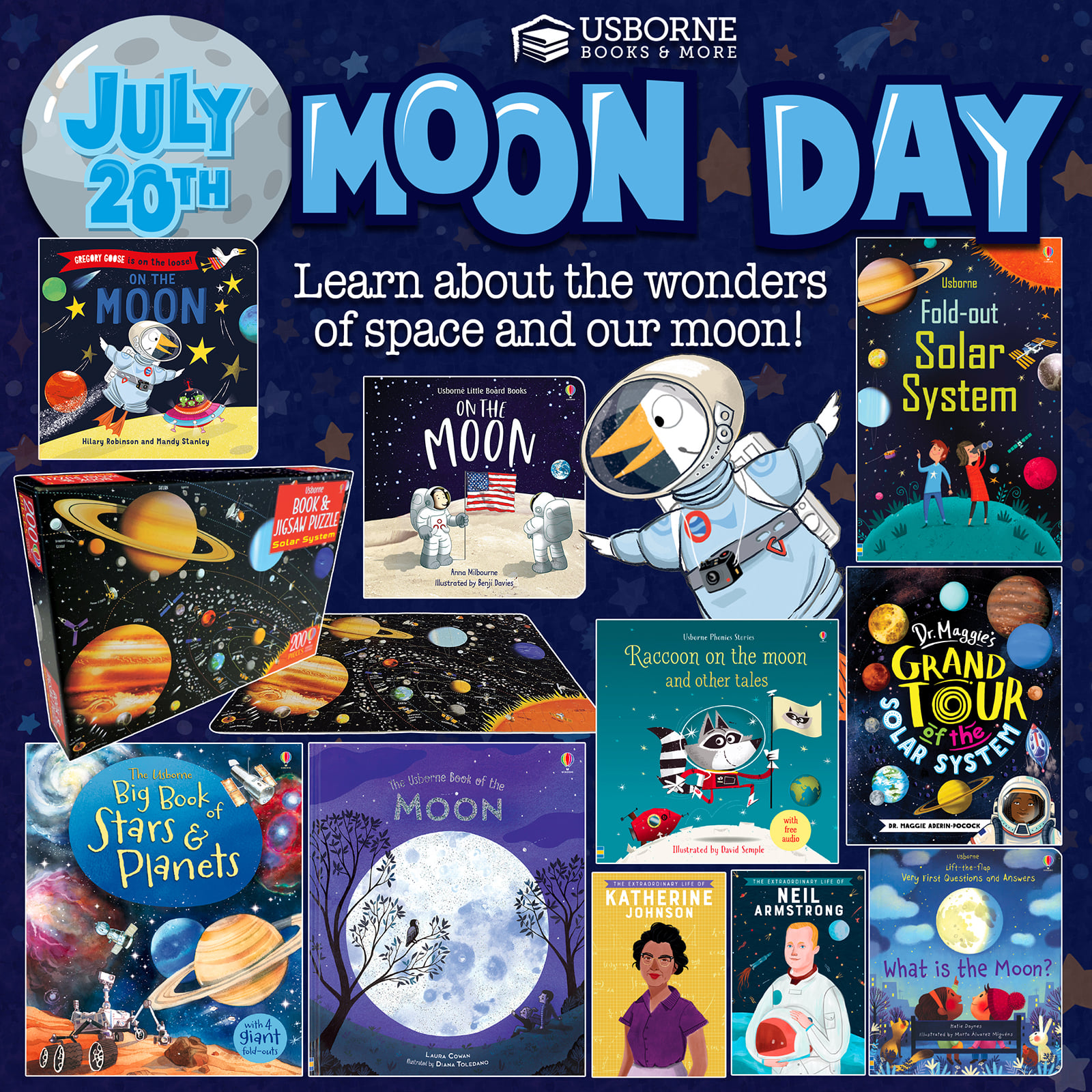 Moon Day ~ July 20