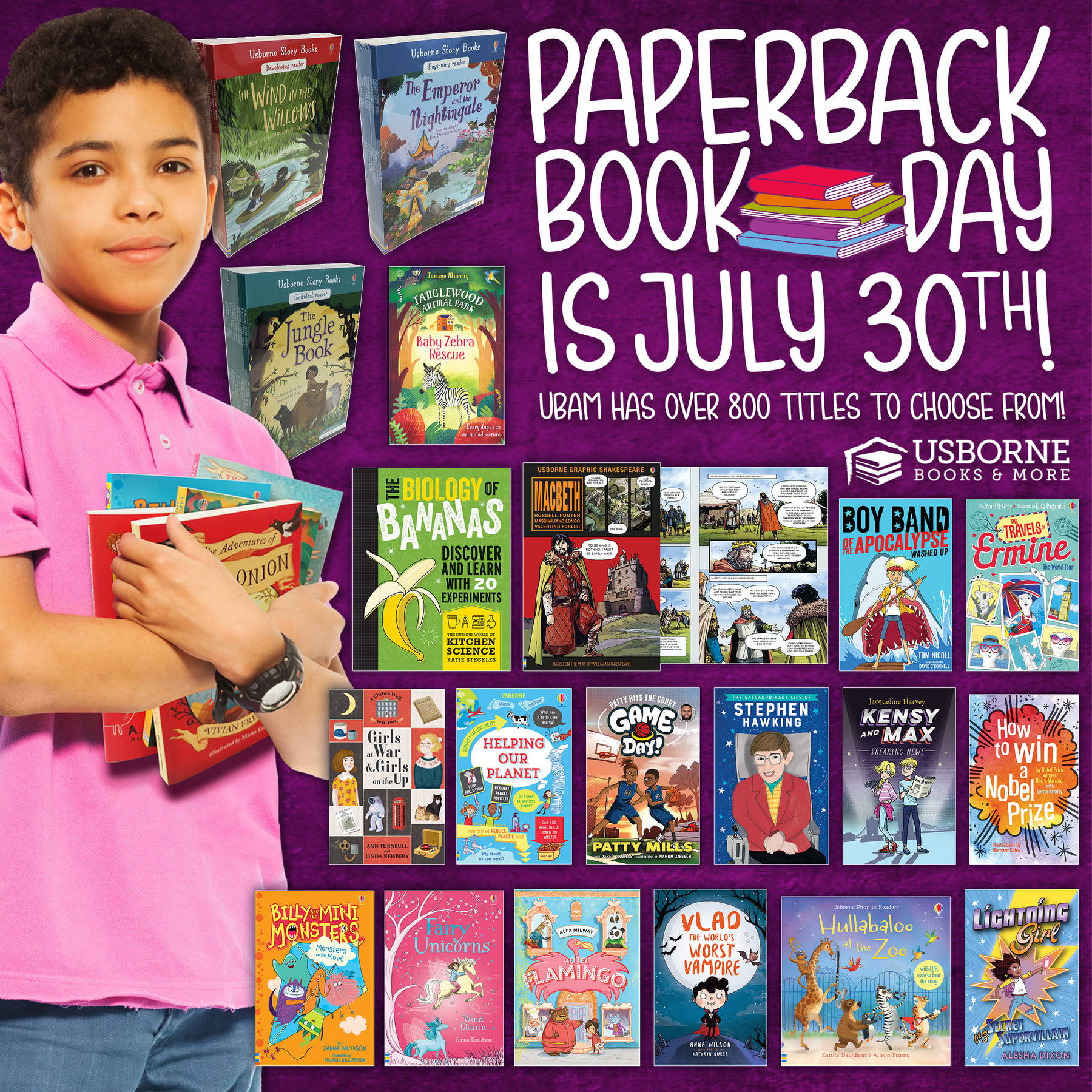 Paperback Book Day ~ July 30