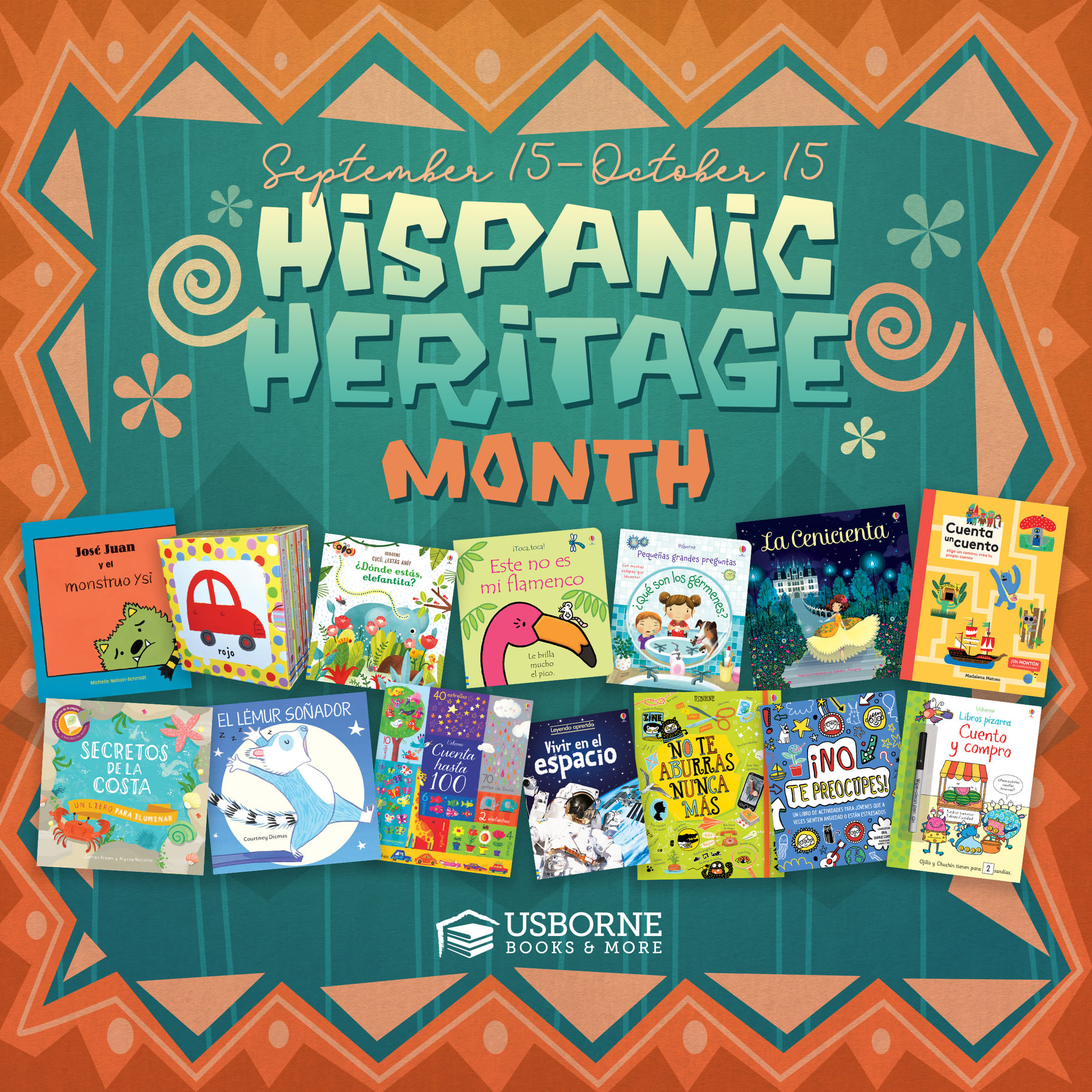 National Hispanic Heritage Month ~ September 15 - October 15