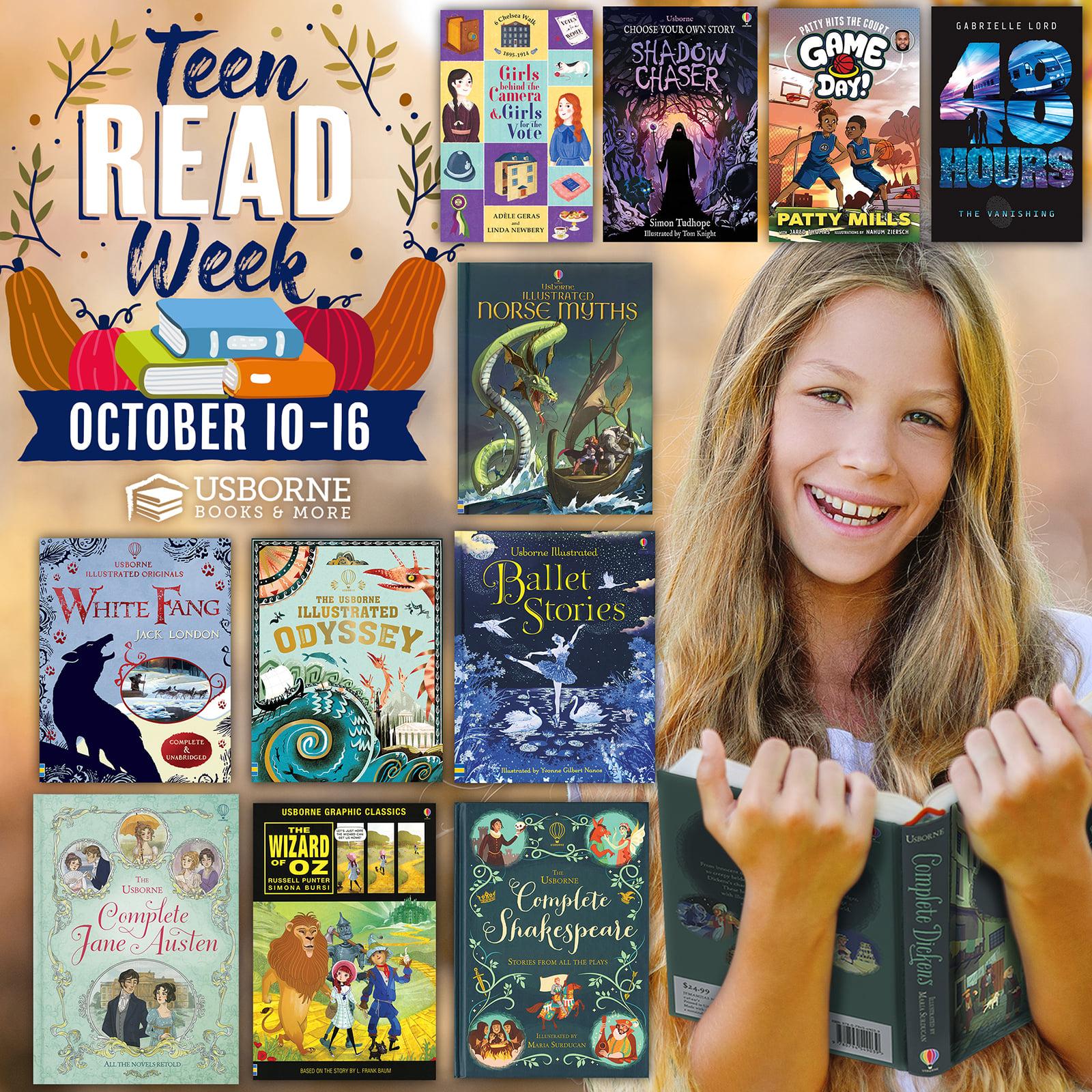 Teen Read Week ~ October 10-16