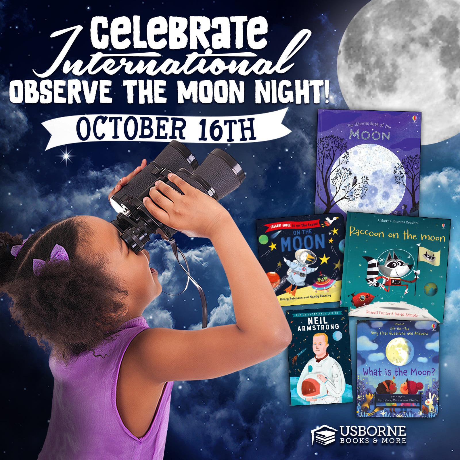 International Observe the Moon Night ~ October 16