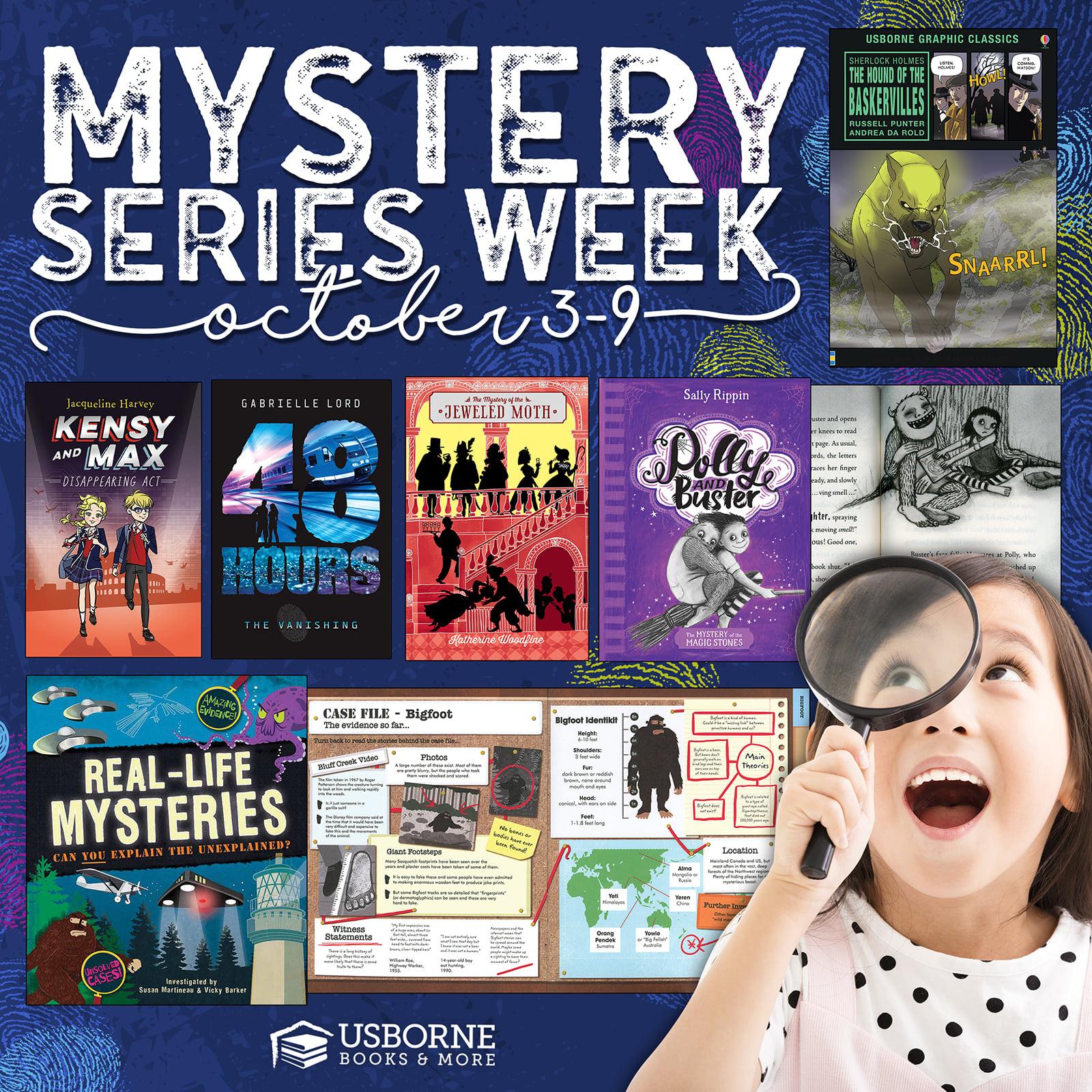 Mystery Series Week - October 3-9